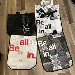 Lululemon Large Reusable Bags